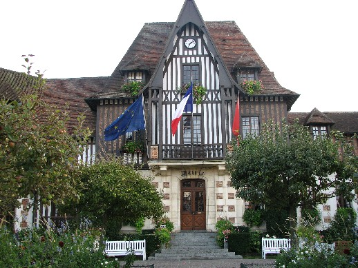 france, Deauville, Normandie, la mairie , http://voyages-inattendus.wifeo.com
