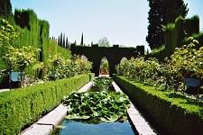 voyages-inattendus,  espagne andalousie grenade alhambra jardins