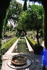 voyages-inattendus,  espagne andalousie grenade alhambra jardins 5