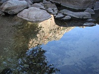 voyages-inattendus,  gorges d`heric, reflets
