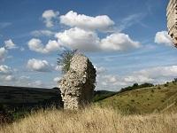 voyages-inattendus,  chateau gaillard, normandie, ruines