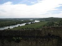 voyages-inattendus,  la roche guyon, normandie, la seine vue du chateau 2