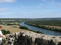 voyages-inattendus,  la roche guyon, normandie, la seine vue du chateau 3