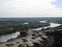 voyages-inattendus,  la roche guyon, normandie, la seine vue du chateau 4