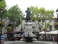 voyages-inattendus, camargue, aigues mortes, statue de saint louis 2