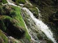 voyages-inattendus,  gorges du tarn, cascade gros plan