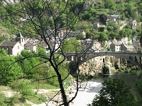 voyages-inattendus,  gorges du tarn, pont et village de pierre 2